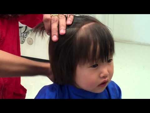 first haircut girl baby c haircut 3394 | hqdefault
