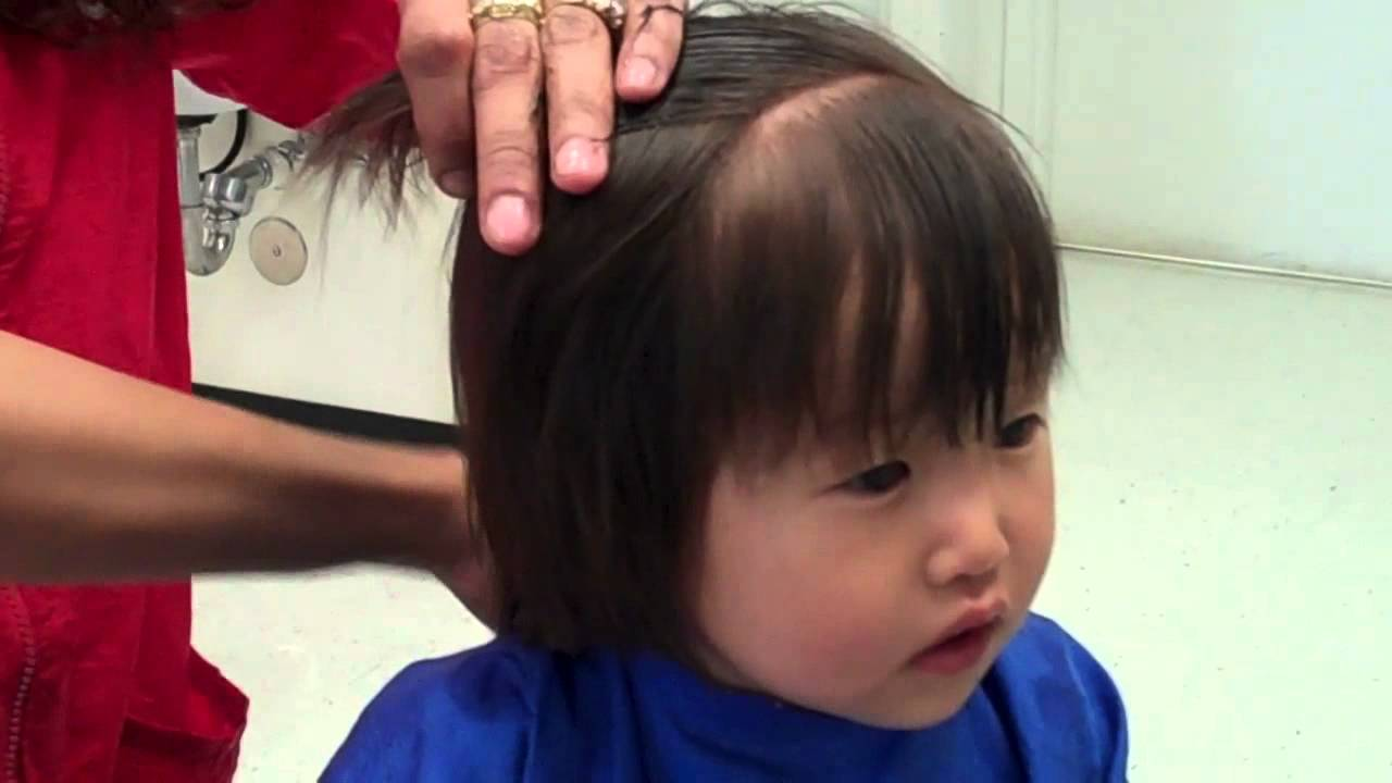 Baby C First Haircut Youtube