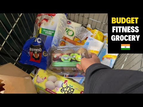 Budget Fitness Grocery Shopping for Fatloss ( with prices ) 🇮🇳