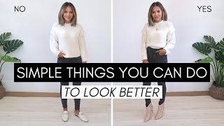 Simple Things You Can Do To Look Better Pt. 3 | Enhance Your Look