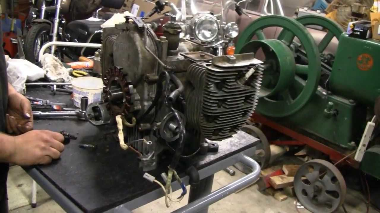 Onan Engine Repair Part 2 Youtube