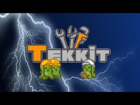 Tekkit Ep. 10 Oil rig and Solar panels