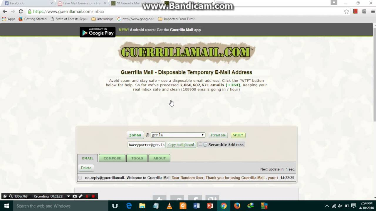 how to create yahoo email account 2016