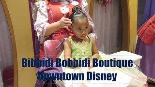 Bibbidi Bobbidi Boutique at Downtown Disney