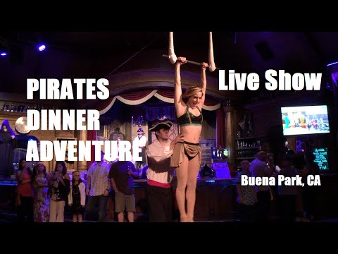 Pirate's Dinner Adventure at Buena Park CA - Live Show (A Must See!!)