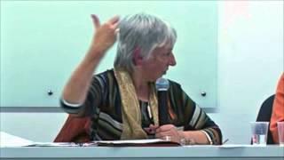 """Palestra de Maria L. Feminias: """"Contribuições Filosóficas de Judith Butler..."""""""