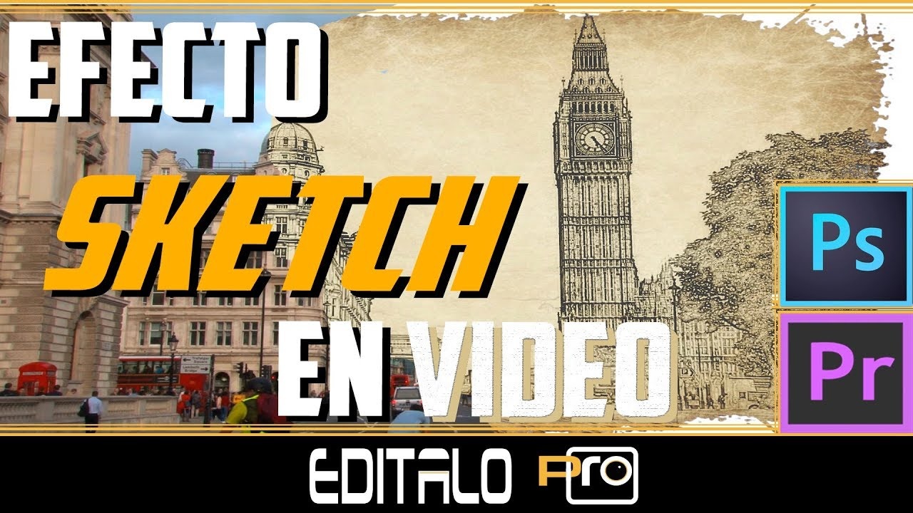How to convert videos to cartoon effect sketch