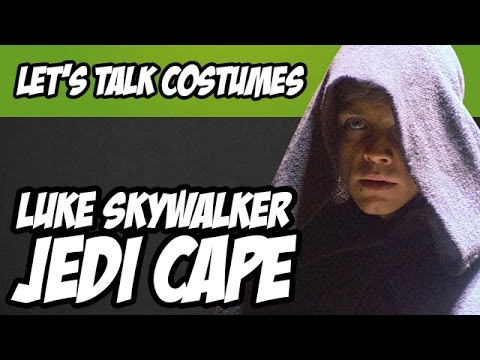luke skywalker jedi cape cloak from star wars return of the jedi