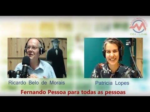 Entrevista de Patricia Lopes por Ricardo Belo de Morais em Lisboa