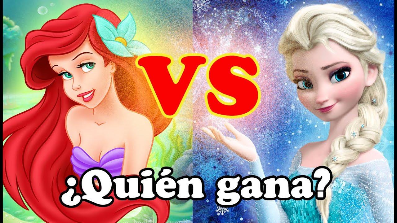 Batalla De Rap De Princesas Elsa Vs Ariel Yessi Tu Amiga