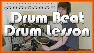 ★ American Idiot (Green Day) ★ Drum Lesson | How To Play Drum Beat (Tre Cool)