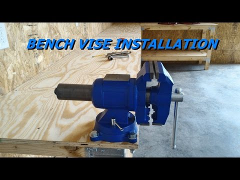 How to Install a Bench Vise