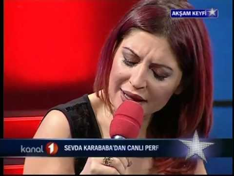 Sevda Karababa Her Sevda Bir Veda Bir Ceza  (Canlı Performans) 2.Mart.2009-KANAL 1