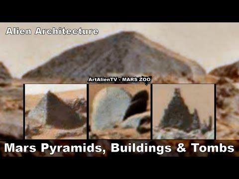 MARS PYRAMIDS, BUILDINGS & TOMBS (As seen on Ancient Aliens) Valley of the Kings. ArtAlienTV - 1080p