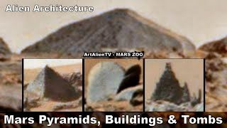 MARS PYRAMIDS, BUILDINGS & TOMBS - Ancient Alien Architecture. ArtAlienTV - 1080p