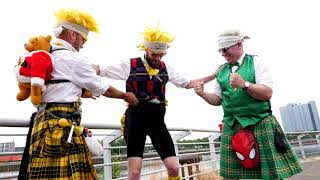 The Absurdist Pipe Band- Race Day