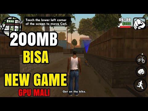 GTA SA Lite 200mb Bisa NEW GAME GPU Mali