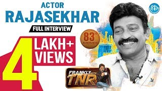 Actor Rajasekhar Exclusive Interview | Frankly With TNR #83 | Talking Movies With iDream #554