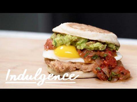 Learn to Make This Huevos Rancheros Breakfast Sandwich