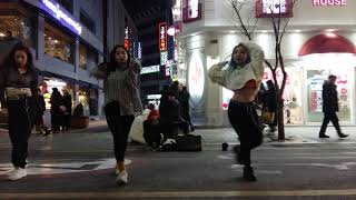 2019.2.17&신촌유플렉스현대백화점앞&버스킹&댄스팀&3ROOT&by Bigstart