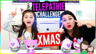 Twin Telephatie Challenge - WEIHNACHTS EDITION 🎅 🎁 Alles Ava