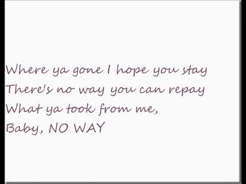 Melanie Fiona- Can't Say I Never Loved You (Lyrics)