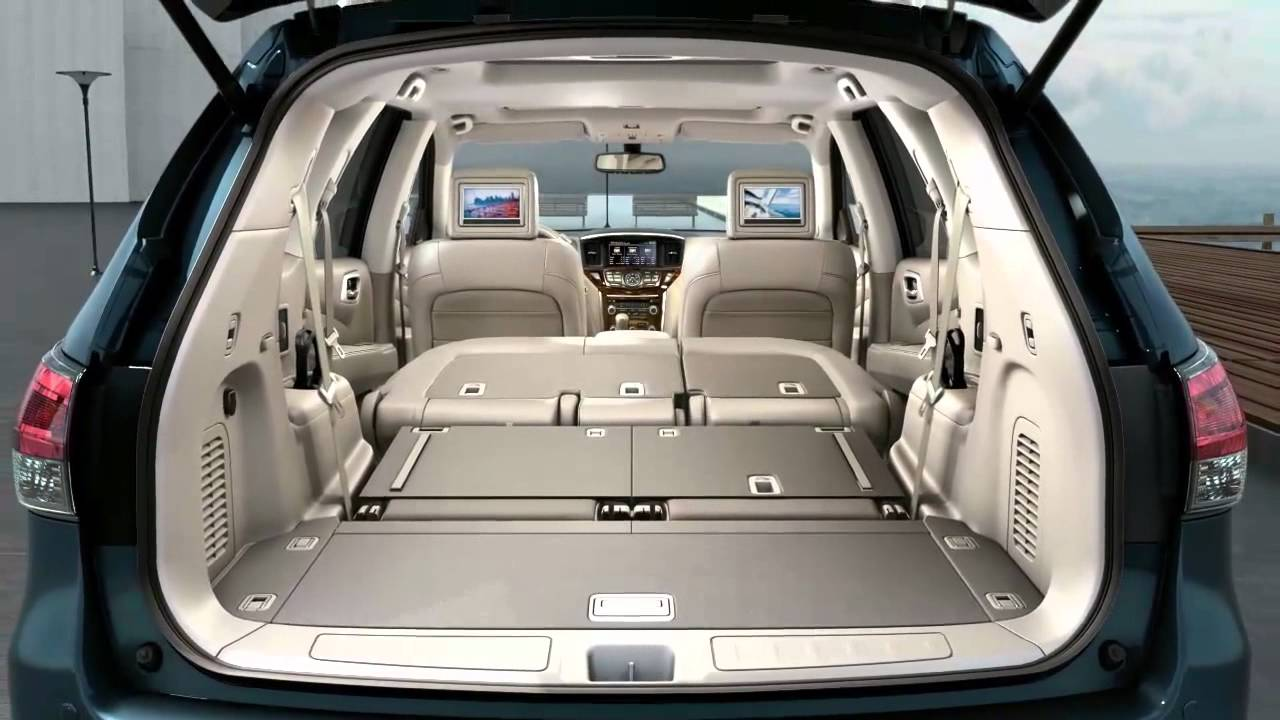 Nissan Pathfinder (2013). Asientos 2ª y 3ª fila. Maletero ...