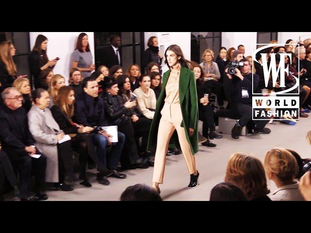 Front Row Cedric Charlier Fall-Winter 15-16 Paris Fashion Week