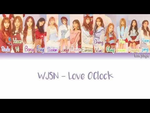 Download lagu WJSN (Cosmic Girls) (우주소녀) - Love O'Clock  (호두까기 인형) Lyrics (Han Rom Eng Color Coded) Mp3 terbaik