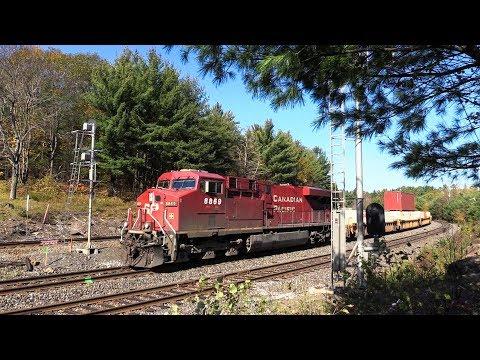 CP 8869 at Boyne Junction (18OCT2017)