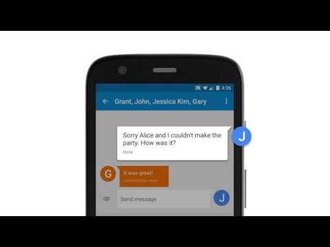 Group Messaging: Android