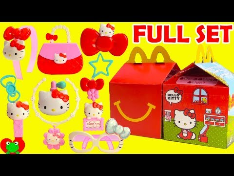 Hello Kitty McDonald's Happy Meal Toys