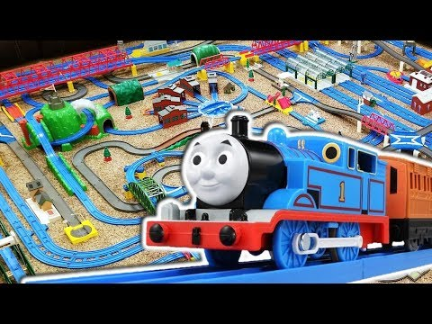 Thomas Plarail Layout (#1) | Featuring new CGI Thomas | Too Much Thomas