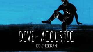 ED Sheeran   Dive Acoustic Amazon
