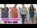 Fashion to Figure Try On & Haul| Plus Size Fashion