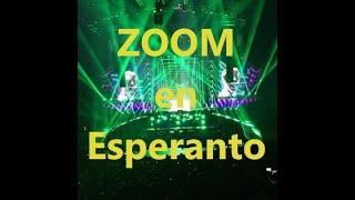 Kiel onu povas uzi la Zoom apon en Esperanto. // How to use Zoom in Esperanto.