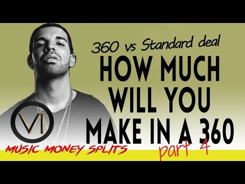 Ep 63  Record Deals: Money Splits 4  360 Deals Vs Standard Record Deals