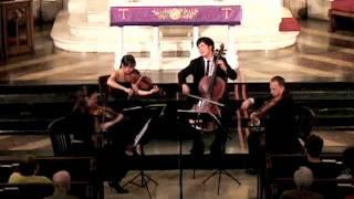 """Attacca Quartet plays Haydn Op. 76 no. 3 """"Emperor"""" - Second Movement"""
