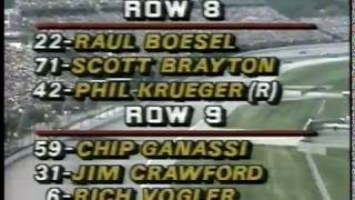 Auto Racing   1986   ABC Sports Indy 500 Special Feature   Drivers Start Your Engines   As The Race
