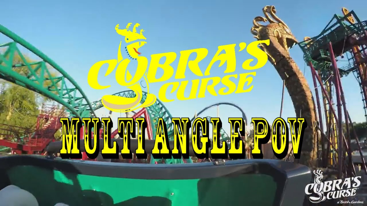 Busch gardens tampa cobra 39 s curse full ride pov hd best quality youtube for Busch gardens tampa bay cobra s curse