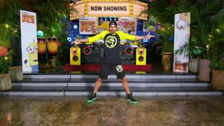 Official Zumba Choreography for 'Despicable Me 3'