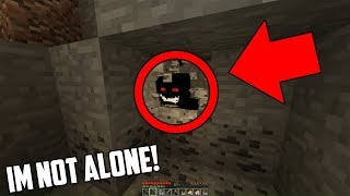This is why you should NEVER enter this Minecraft Cave at 3:00 AM... THERE'S A MONSTER!