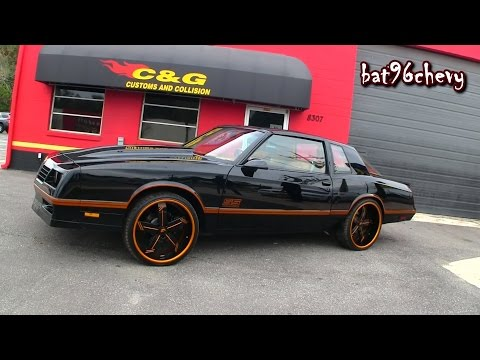 "CUSTOM '86 Monte Carlo SS Aerocoupe on 22"" Forgiatos, 510 HP LS1 Engine, Custom Interior - HD"