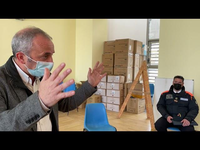 Incontro Famiglia Fuamba autorità di Pantelleria 19-04-2021