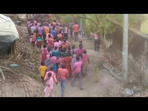 Tani Dale Da Ye sali bada maza ..Holi Dance video 2018 by Joydeb sarkar8927939370 Bara Bhabani pur