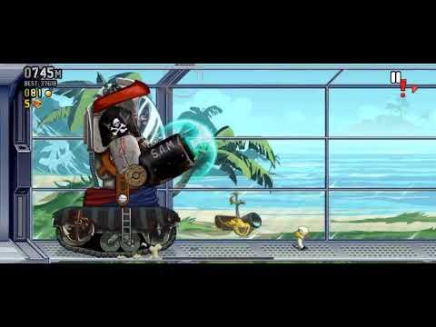 Jetpack Joyride Pirate SAM theme