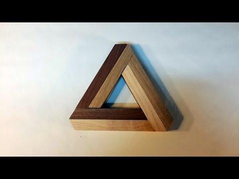Penrose Triangle Expandable Trivet
