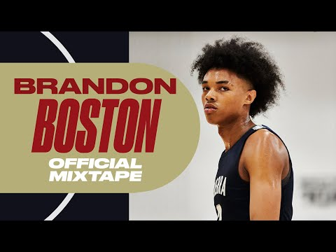 Five-Star Kentucky Commit Brandon Boston Has PRO Potential - Official Mixtape