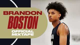 Five-Star Kentucky Commit Brandon Boston Has PRO Potential - Official Mixtape