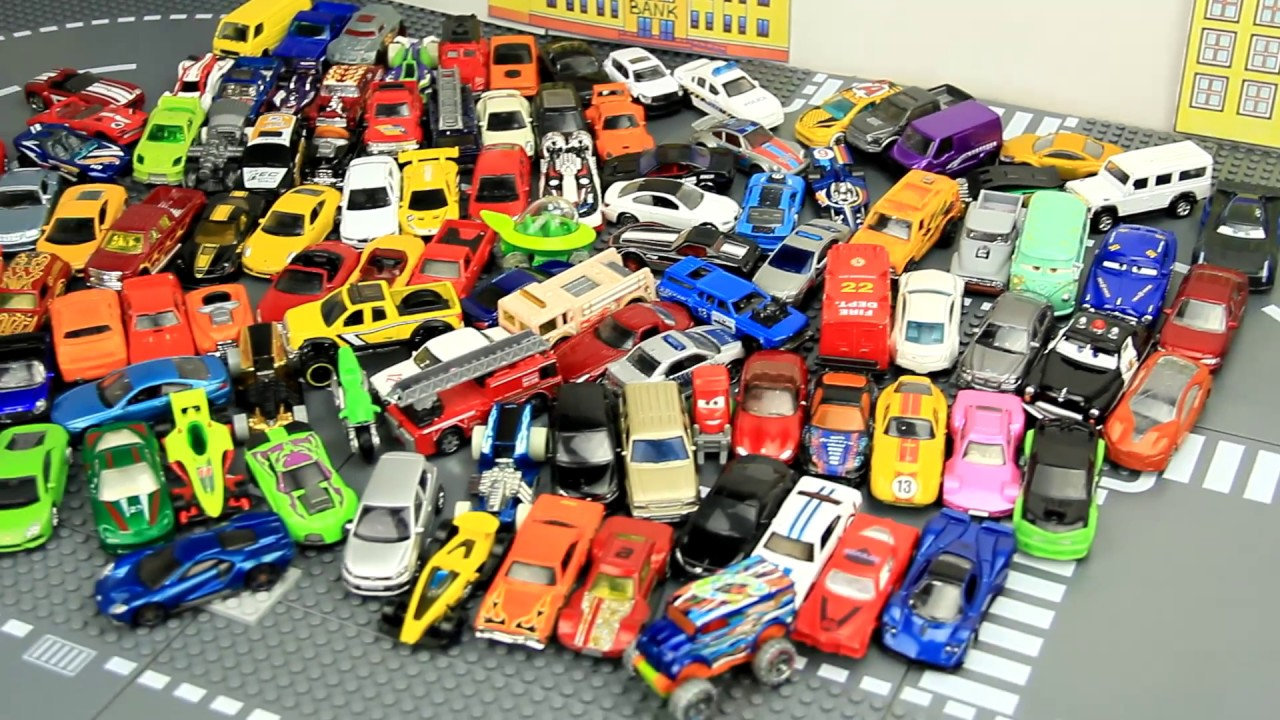 100 Cars Toys Collection Small For Kids